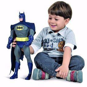 Boneco Batman (43Cm) - Bandeirante Brinquedos