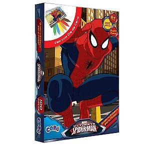 Homen Aranha- Quebra-Cabeça Com 100 Peças - Toyster