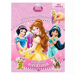 Disney Princesas - Col. Meus Adesivos Divertidos