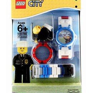 Lego Relógio de Pulso City Policia