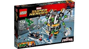 Lego Armadilha Homem Aranha
