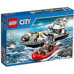 Lego Barco Patrulha da Policia