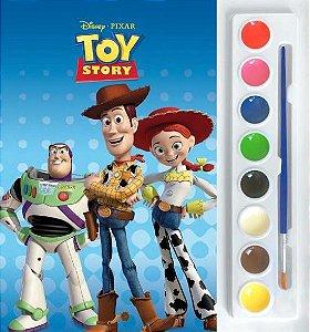 Mini Aquarela - Toy Story - Livro Para Colorir