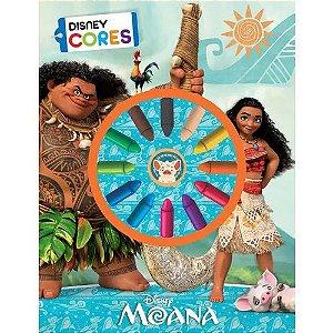 Livro Para Colorir- Col. Disney Cores - Moana