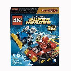 Lego Super Heróis Flash Vs Capitão Frio