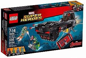 Lego Super Heróis Ataque de Submarino do Caveira de Ferro