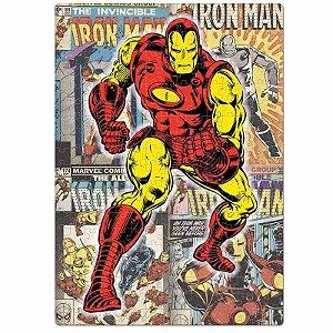 Quebra-Cabeça Nano 500 Peças Homem de Ferro  - Marvel