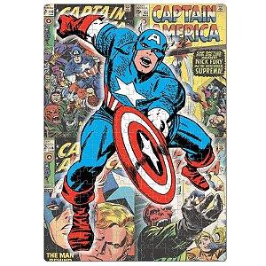 Quebra-Cabeça Nano 500 Peças Capitão América  - Marvel