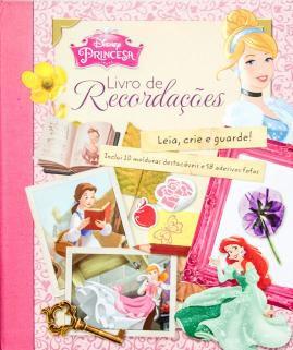 Disney- Princesas - Livro de Recordações