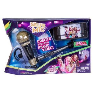 Microfone Selfie Mic Preto
