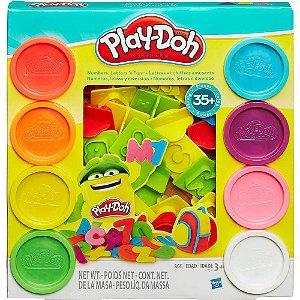 Play Doh Números e Letras