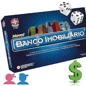 Jogo - Banco imobiliário - Estrela