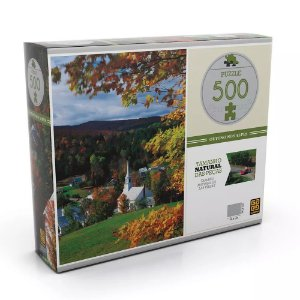 Jogo Puzzle 500 peças Outono nos Alpes Grow