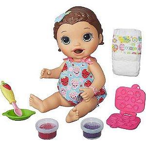Baby Alive Lanchinhos Divertidos Morena