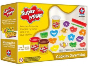 Super massa - Cookies divertidos