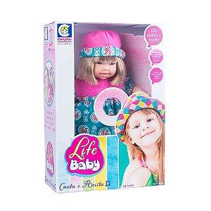 Boneca Life Baby Canta E Recita