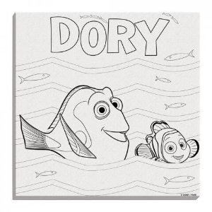 Disney Kit de Pintura Procurando Dory DTC