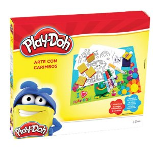 Play-Doh Arte Com Carimbos