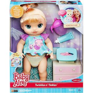 Baby Alive Fraldinha Mágica Loira