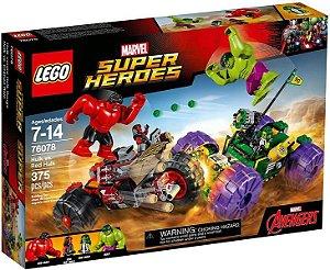 LEGO Super Heroes Hulk VS Red  Hulk