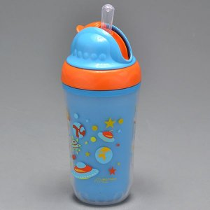 Copo Infantil Multikids Canudo Silicone