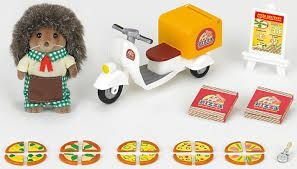 Sylvanian Families Pizza Delivery 5238