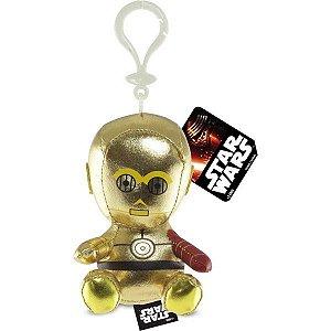 Chaveiro de Pelúcia Star Wars C-3PO