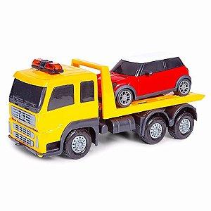 Caminhão C/carrinho MiniFrota Poliplac Sortido