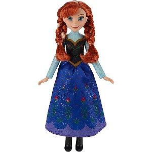 Boneca Clássica Anna Frozen 30 CM