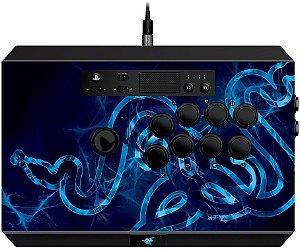 CONTROLE ARCADE RAZER PHANTERA PARA PS4,PS3 e PC