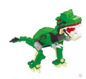 Ovo Com Lego Dinossauro