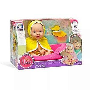 Boneca Baby Ninos Hora do Banho