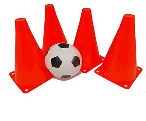 Kit Futebol Infantil - Cones e Bola