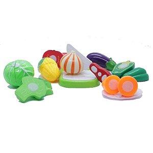 Kit Frutas CRECREC com Velcro 8 Frutas mais Acessórios