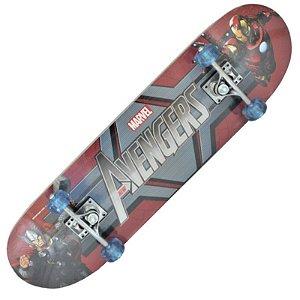 Skate Grande para crianças Vingadores