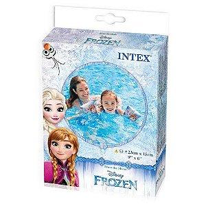 Boia de Braço Infantil Frozen para Piscina Salva Vidas Intex