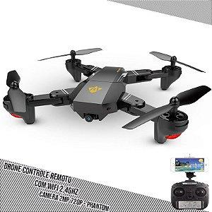 Drone com Câmera Alta Definição PRO Filma e Tira Foto Wifi - Phantom