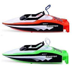 Lancha Boat Barco Controle Remoto Bimotor