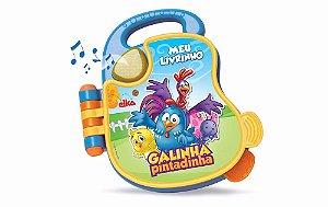 Livro Musical Galinha Pintadinha elka  para criança