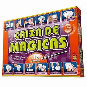Caixa de magicas Jogo 12 truques  Grow Brinquedo para Crianças