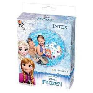 Bola para piscina frozen intex para menina
