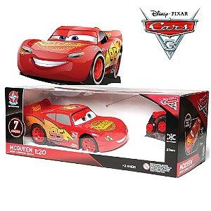 Carrinho Controle Remoto Relâmpago McQueen Carros 3 Disney Pixar