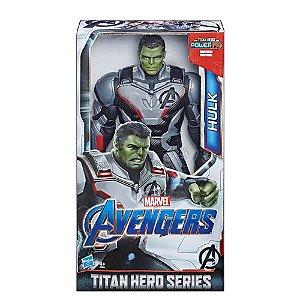 Boneco Hulk Titan Hero FX Avengers Endgame Vingadores Ultimato Marvel Hasbro E3304