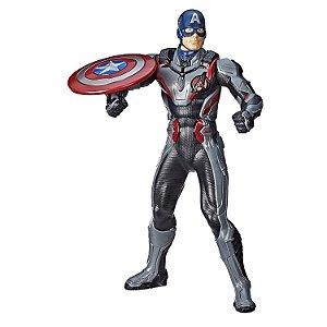 Boneco Eletronico Capitão América Vingadores Ultimato Avengers End Game Luxo