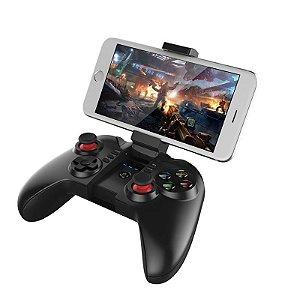 Controle Para Celular Gamer Ipega Sem Fio Joystick Gamepad TV Bluetooth
