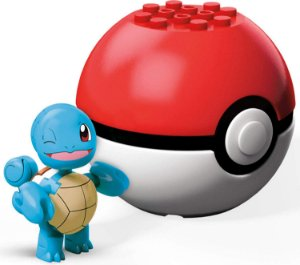 Monte o Seu Pokemon Squirtle Pokebola Mega Blocks Mattel