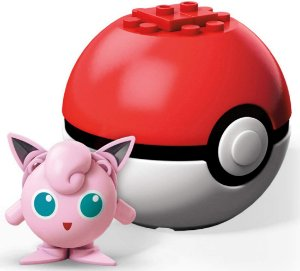 Monte o Seu Pokemon JigglyPuff Pokebola Mega Blocks Mattel