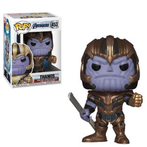 Boneco Funko Pop Thanos Marvel Avengers End Game Vingadores Ultimato 453