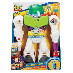 Robô Buzz Lightyear Toy Story 4 Imaginext Mattel Gigante