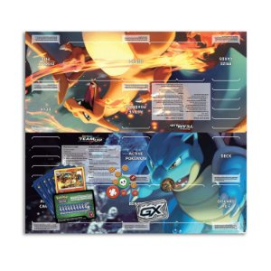 2 Deck Pokemon Temáticos Charizard & Blastoise 120 cartas